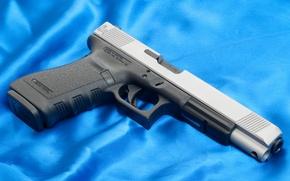 Picture Background, Glock, Gun, Austria, Weapons, Weapon, 20L, 20L, Austria, Blue, Gun, Wallpaper, Wallpapers, Glock