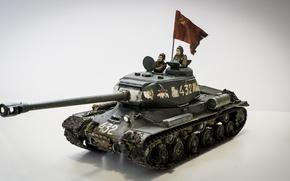 Wallpaper toy, The is-2, model, heavy tank