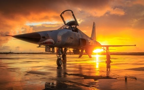 Picture weapons, the point, F-5N Tiger
