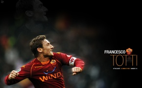 Picture football, AS Roma, Francesco Totti