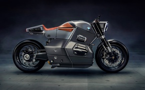 Picture BMW, beautiful, motorcycle, beauty, strong, motorbike, futuristic, technology, bold design, Bmw Urban Racer