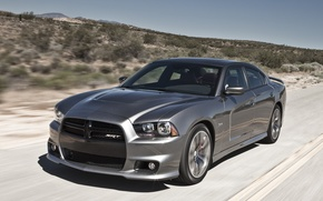 Picture road, auto, car, SRT8, Dodge, Dodge Charger, charger