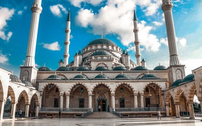 Picture mosque, Russia, russia, terrible, Istanbul, Chechnya, mosque, terrible, istambul