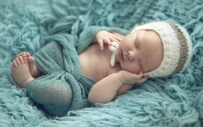 Picture hat, calm, child, sleep, baby, baby