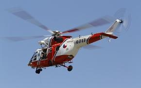 Picture helicopter, multipurpose, Falcon, W-3A