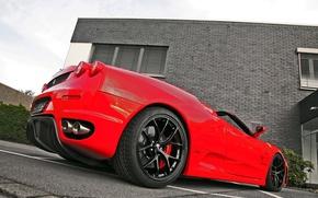 Picture red, tuning, Ferrari