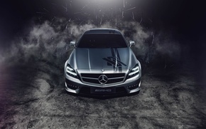 Picture Mercedes-Benz, silver, AMG, Mercedes Benz, CLS63, CLS-class, Ranier Peredo, Automotive Photography