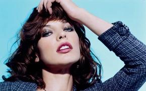 Picture look, beauty, Milka Jovovich