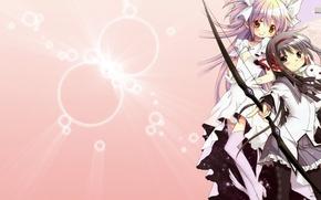Picture Anime, Mahou Shoujo Madoka Magica, Homura, AKEMI, Madoka Kaname, Cuba., Girl Madoka Magika