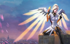 Picture Game, Blizzard Entertainment, Overwatch, Mercy