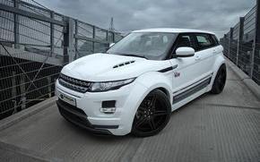 Picture car, machine, white, Land Rover, Range Rover, view, Evoque, Prior-Design, PD650