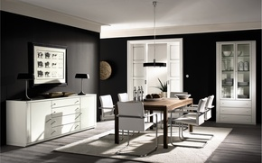Picture design, house, style, room, interior, apartment, dining room