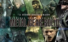 Picture metal gear solid, konami, Raiden, mgs, Liquid Ocelot, big boss, naked snake, solid snake, Ocelot, …