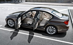 Picture the city, BMW, Parking, salon, 3 series, F30, a three-pointer