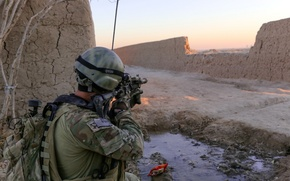 Picture Afghanistan, Soldier, Special Forces Patrol