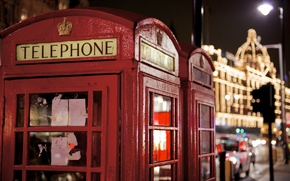 Picture photo, London, phone, red, London, payphone, photographer, Jamie Frith, phone, symbol, booth