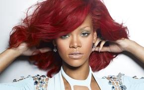 Picture girl, music, singer, rihanna, Rihanna