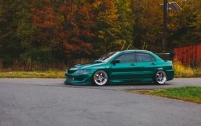 Picture Mitsubishi, Lancer, Evolution, Lancer, stance, Evolution, Mitsubishi