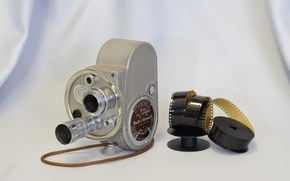 Picture background, camera, Bell & Howell