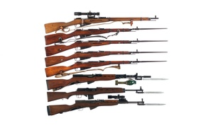 Picture weapons, background, model, rifle, Mosin