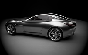 Wallpaper the concept car, silver, Infinity, essence