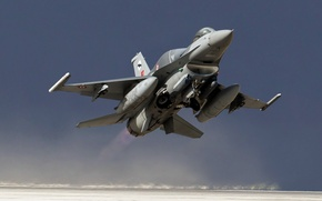 Picture weapons, the plane, F-16C