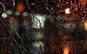 Picture drops, macro, light, texture, bokeh