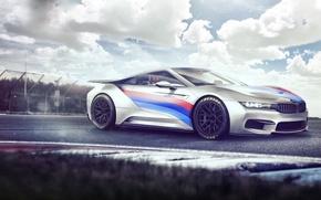 Picture bmw, concept, electro, wheels, Hybrid, electro, race, hybrid, electro car, zi8