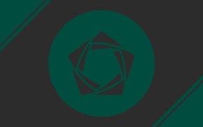 Picture green, logo, circle