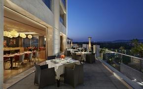 Picture city, design, style, interior, terrace, restaurant