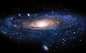 Wallpaper stars, light, the universe, planet