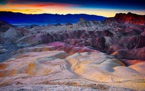 Picture Death Valley, сalifornia, death valley