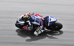 Picture Road, Sport, Speed, Asphalt, Motorcycle, Racer, Yamaha, MotoGP, In Motion