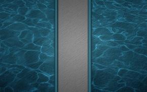 Picture line, blue, strip, grey, dark, texture, wavy