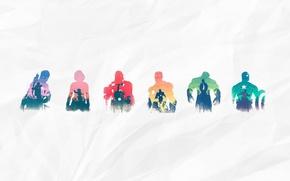 Picture iron man, Hulk, Thor, captain america, captain America, thor, hulk, the Avengers, hawkeye, avengers, black …