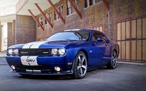 Picture Dodge, Challenger, Blue, SRT