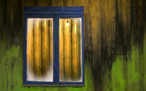 Picture wall, window, texture