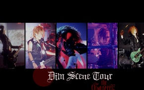 Picture Japan, guys, j-rock, The GazettE, Dim Scene Tour