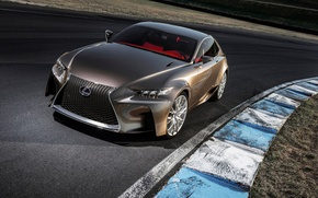 Picture machine, Concept, Wallpaper, Lexus, the concept, LF-CC