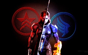 Picture mass effect, renegade, Paragon, Femseven