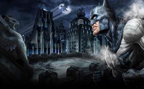 Wallpaper Batman, Night, Gotham