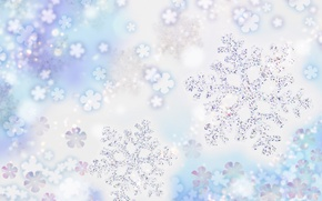 Picture cold, snowflakes, holiday, frost