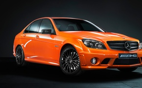 Picture Mercedes, auto, Benz C63