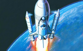 Picture space, Shuttle, spaceship, Space Shuttle, The Space Shuttle