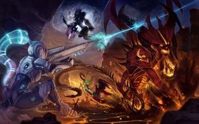 Picture WoW, World of Warcraft, diablo, Sylvanas Windrunner, StarCraft, Sylvanas, Heroes of the Storm, Nova Terra