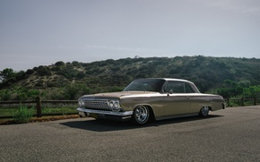 Picture Chevrolet, road, 1965, Impala