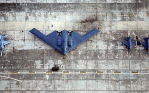Wallpaper f16, f18, bomber, fighter
