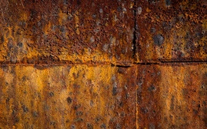 Picture texture, Oxidation, rusted wall
