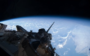 Picture space, Earth, Shuttle