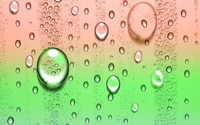 Wallpaper drops, bubbles, color